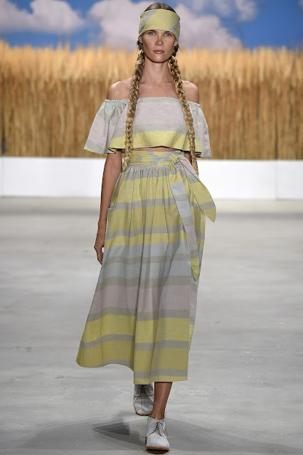designer Mara Hoffman was inspired by American Southwest  for his Spring Summer 16 collection