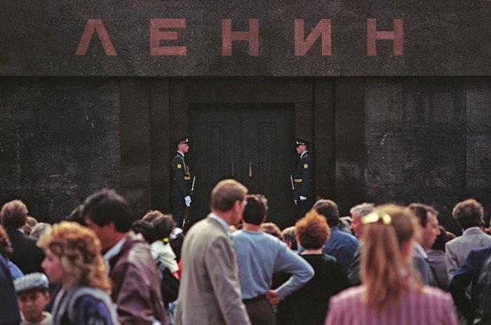 Moscou, Kremlin, Place Rouge, Mausolée de Lénine, © L. Gigout, 1990