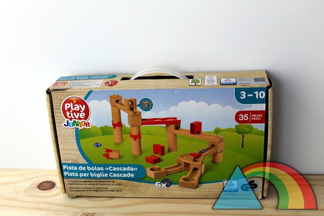 Caja de pista de bolas de la marca Playtive Junior de Lidl