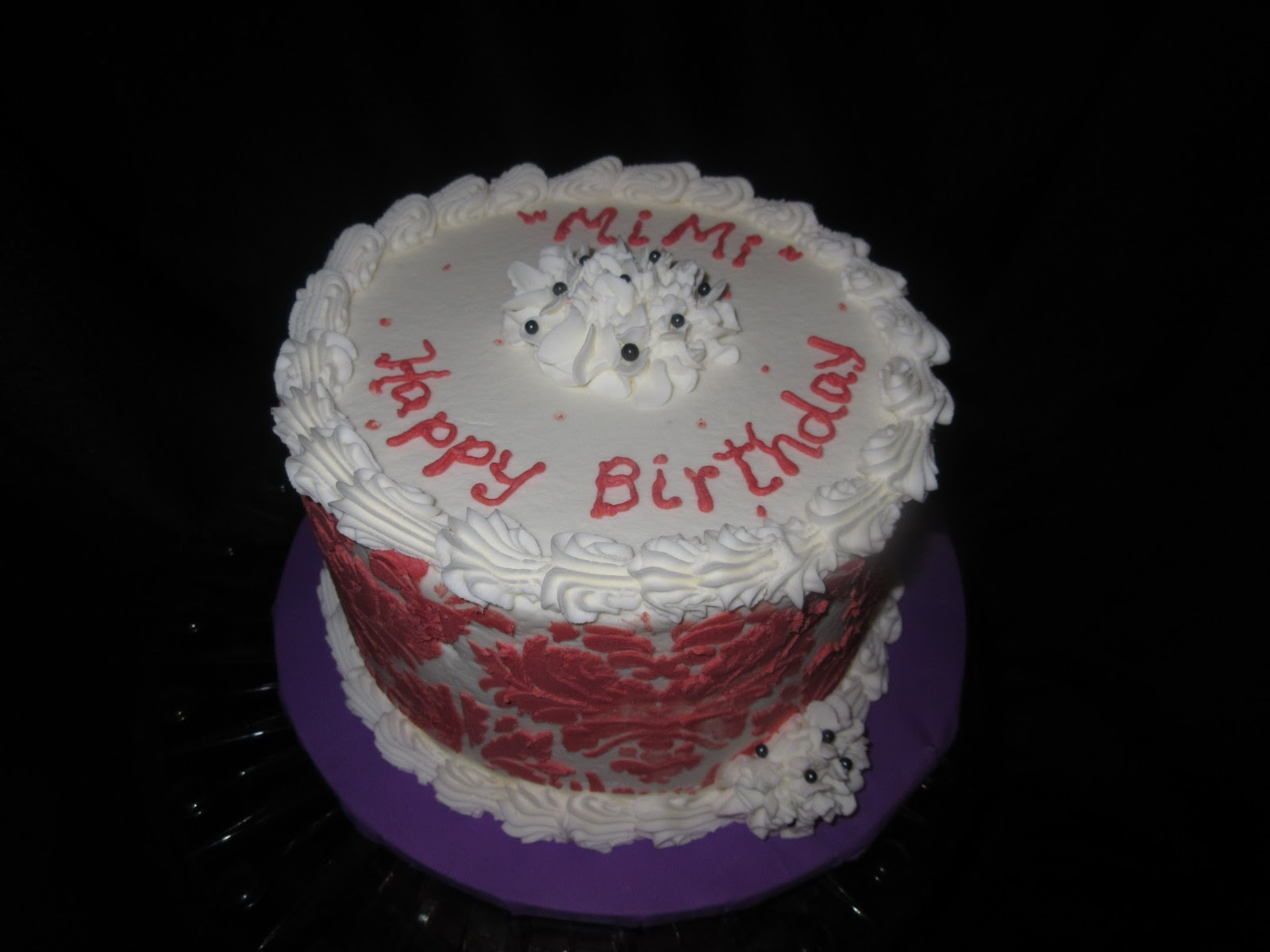 Mimis Birthday Cake Cakes By Mary Ann