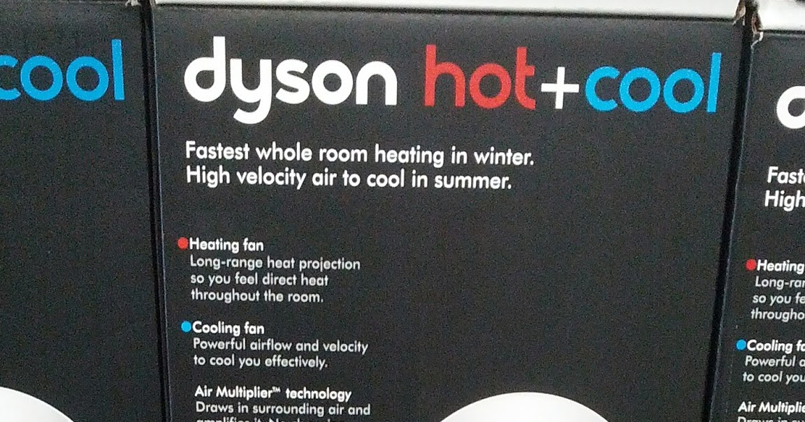 Dyson Hot Cool Am05 Bladeless Heater And Fan Costco