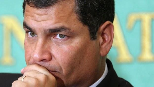 Correa anuncio impuesto a las herencias