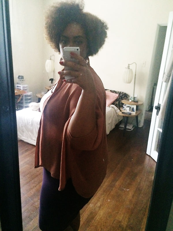 natural hair style, plus size fashion