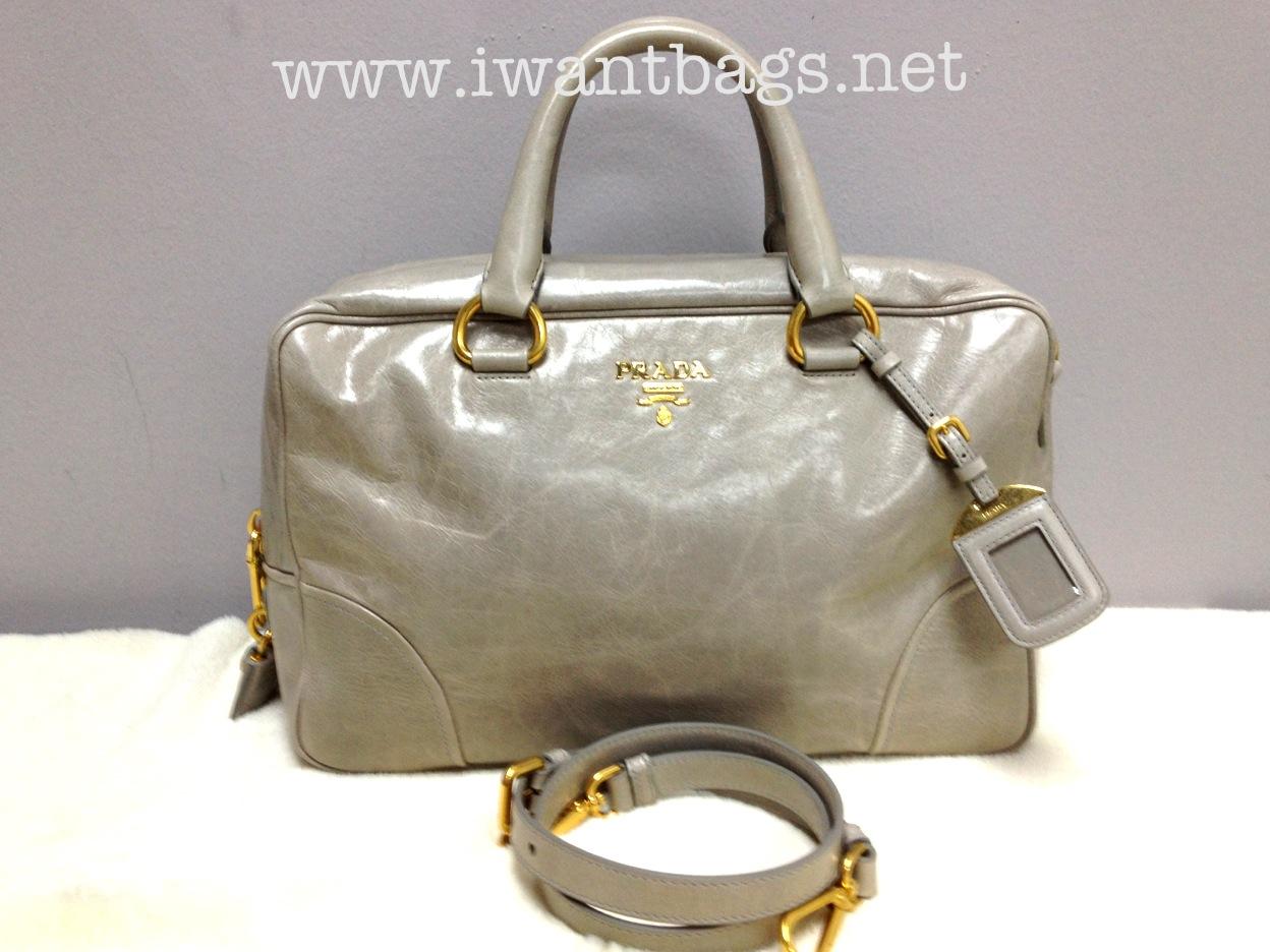 932f7a946707 I Want Bags backup: Prada BL0821 Vitello Shine Satchel- Nude