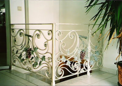 fer forgé balustrade