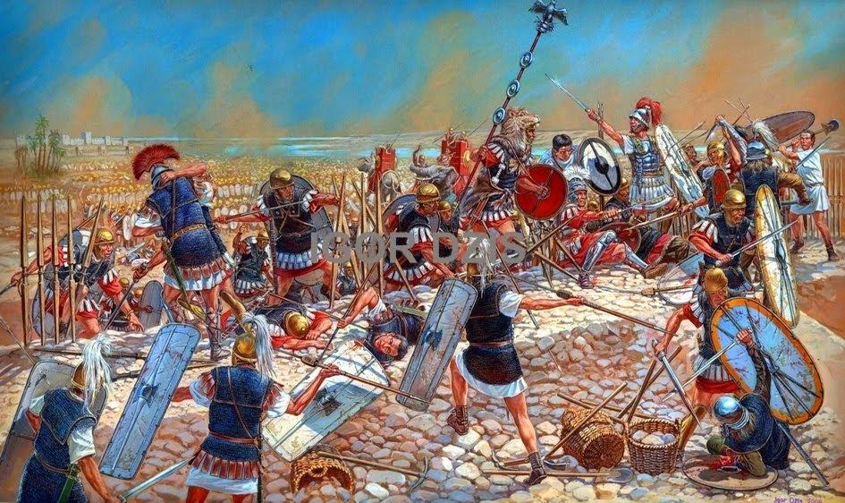Julius Caesar In Battle Mary Ann Bernal...
