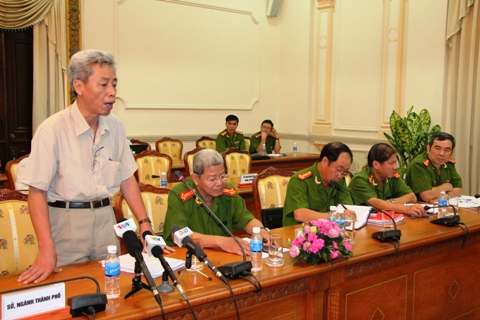"""Thiếu tướng Phan Anh Minh: """"lĩnh vực quản lý Nhà nước liên quan đến hoá chất đang rất phức tạp, bất cập, chồng chéo """"."""