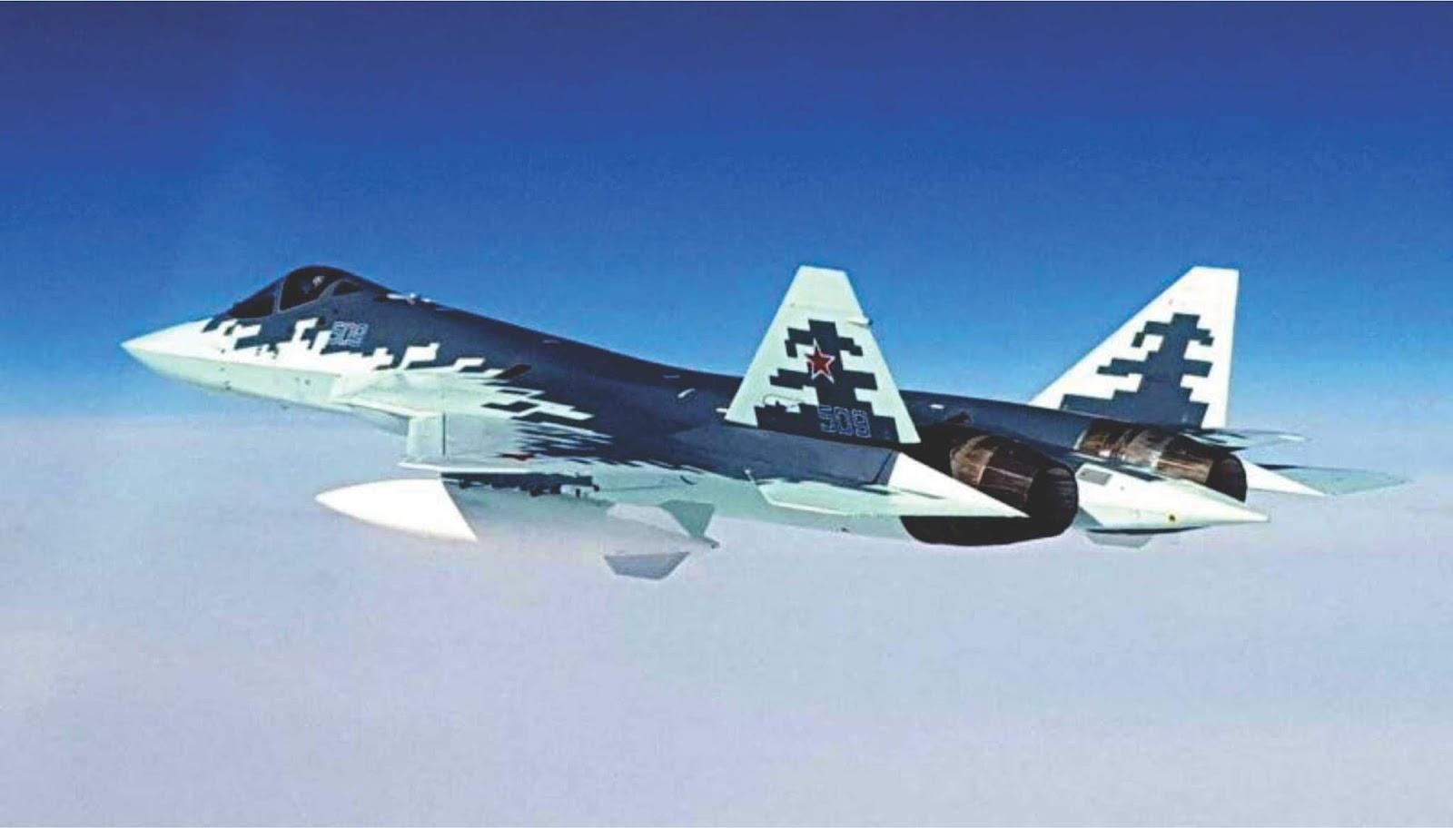 Mengapa ? Ini tentang Pesawat Tempur Gen-5 Sukhoi Su-57