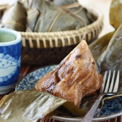 traditional pork rice dumpling zongzi bak chang recipes dragon boat festival season with spice penang malaysian