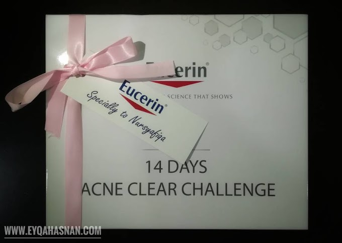 Sahut Cabaran 14 Hari Bersama Eucerin ProAcne A.I Clearing Treatment