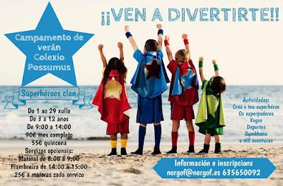 Campamentos de Verano en Vigo - COLEGIO POSSUMUS