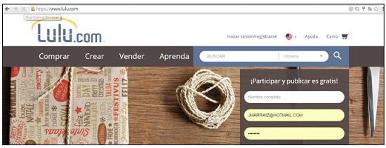 Página web de Lulu en español