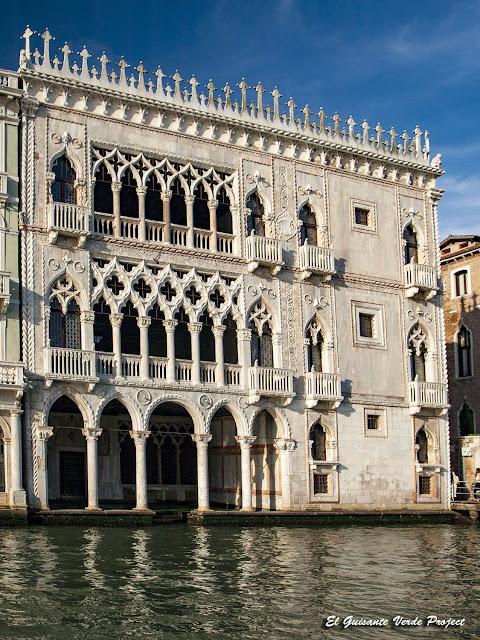 Ca'd'Oro - Cannaregio, Venecia por El Guisante Verde Project