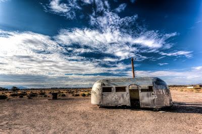 Metal airstream Route 66 California_by_Laurence Norah