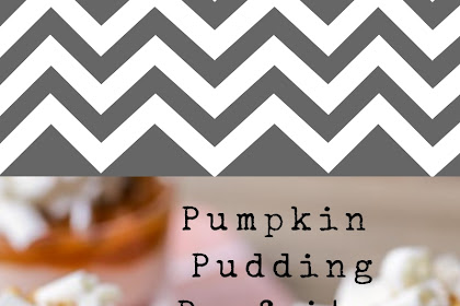 Pumpkin Pudding Parfaits