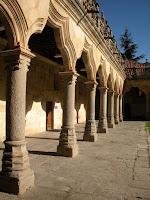 Claustro; Escuelas Menores; Universidad de Salamanca; Salamanca; Castilla y León; Vía de la Plata