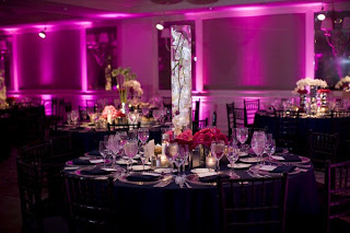 Semi-Wordless Wednesday: Reception Lighting