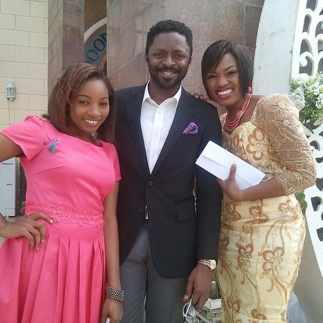 Photo Gallery Nigerian Wedding: Nollywood Actress Ivie Okujaye's White Wedding