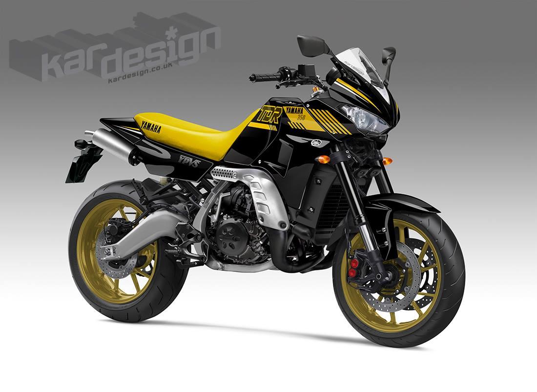 Racing Caf 232 Design Corner Yamaha Tdr 350 By Kardesign