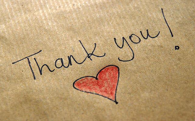 merci remerciements gratitude bonheur épanouissement