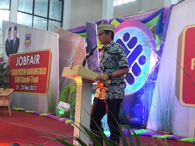 Dihadiri Sandiaga Uno, Job Fair Kabupaten Gorontalo Terlaksana Dengan Meriah
