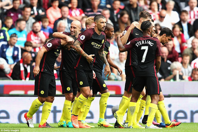 Stoke City Vs Man City