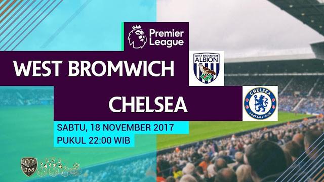 Prediksi Bola : West Brom Albion Vs Chelsea , Sabtu 18 November 2017 Pukul 22.00 WIB