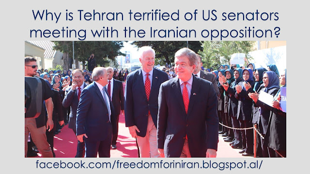 Why is Tehran terrified of US senators meeting with the Iranian opposition?