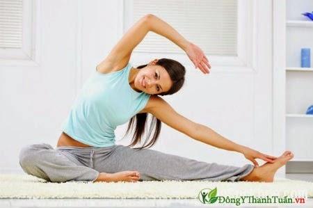 Cách chữa đau lưng - Thường xuyên tập thể dục
