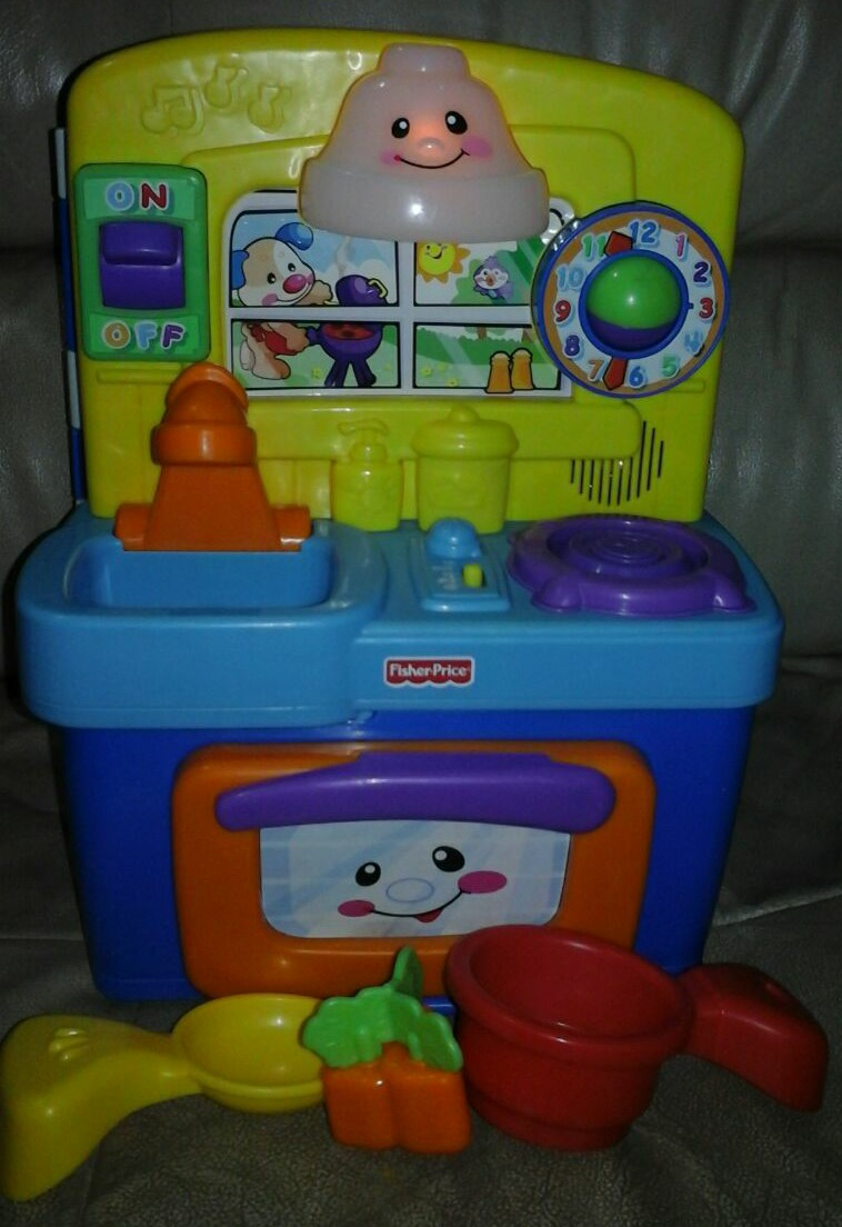 Tenderlovingcare Toys Fisher Price Laugh Learn Baby Kitchen Used