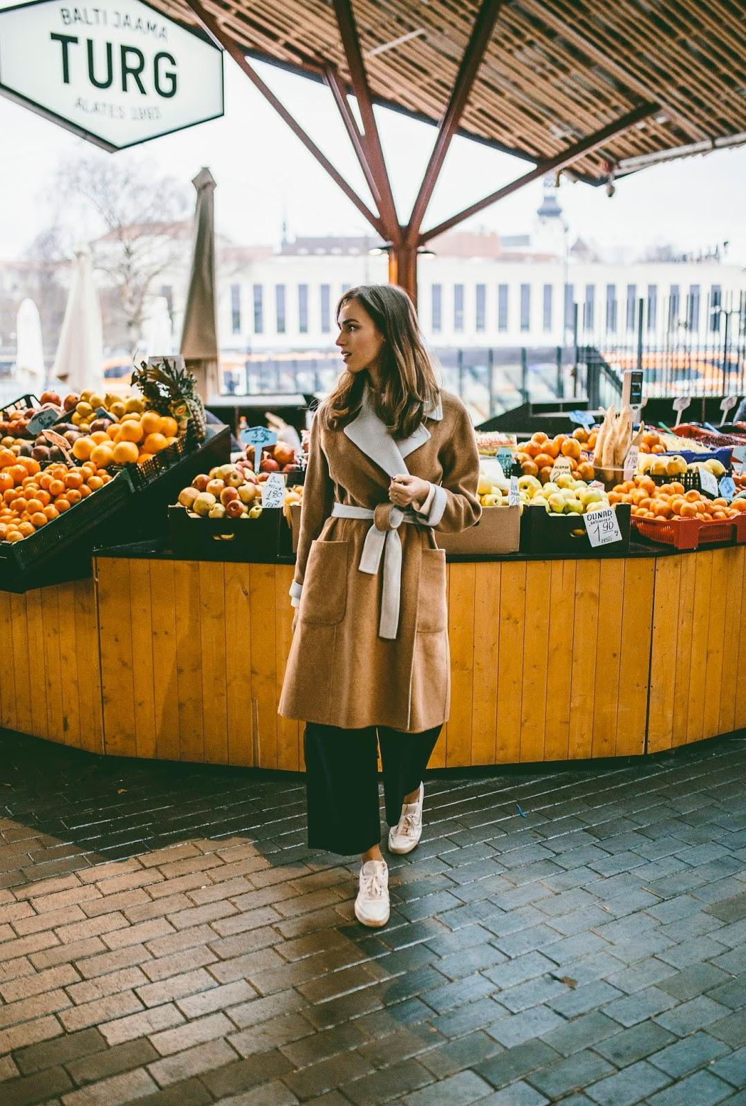 culottes coat fall style