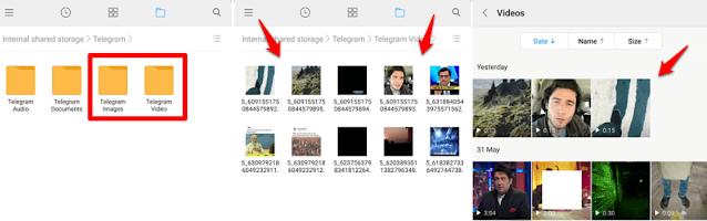 Mengembalikan Foto yang Terhapus di Telegram