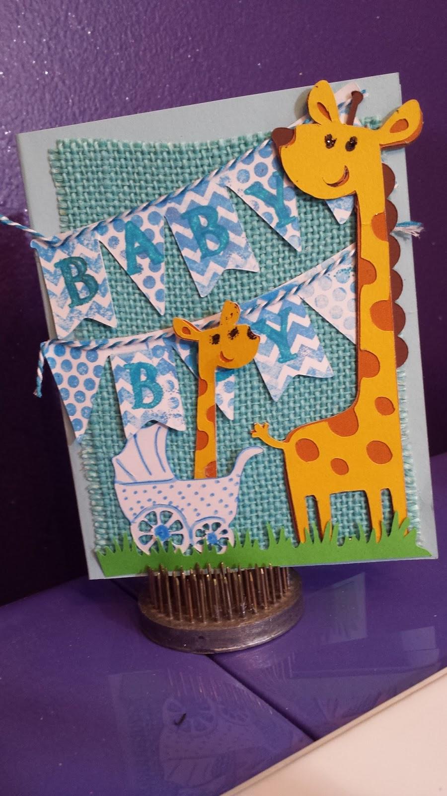 Melody Lane Designs: Baby Shower Card