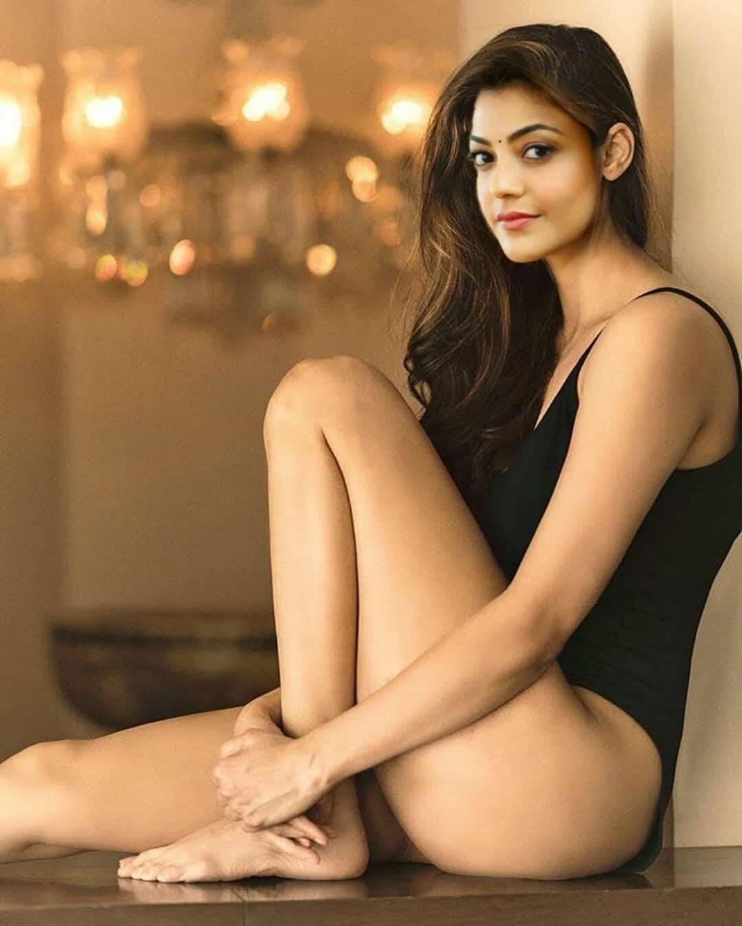 Kajal Agarwal Hot Bikini Photoshoot Hd