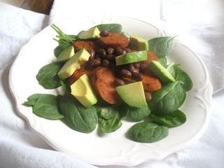 Roasted Carrot and Azuki Bean Salad