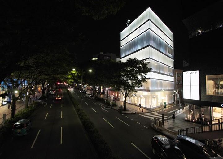 Dior Flagship Store, Tokio, por SANAA y Peter Marino