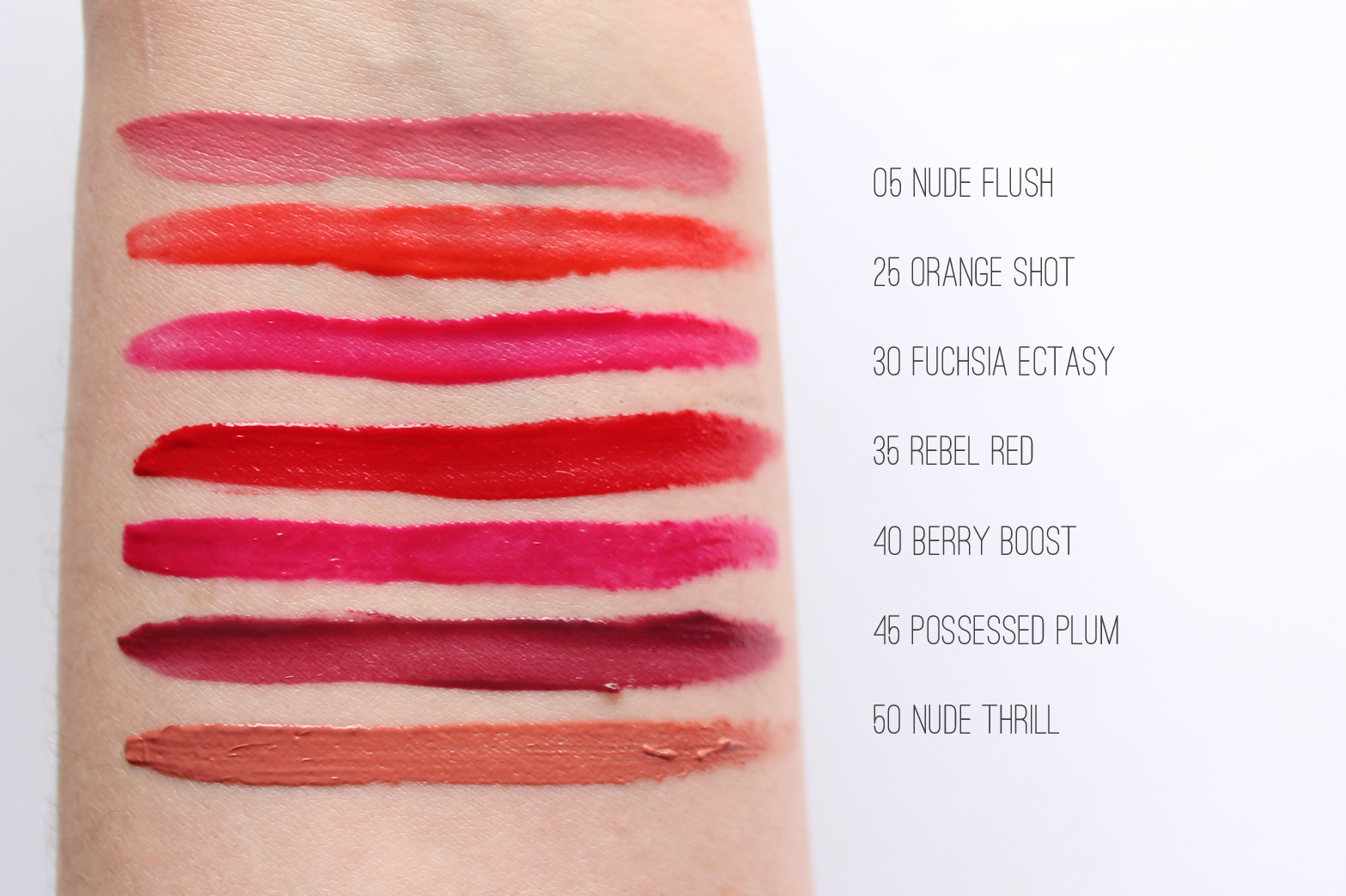 MAYBELLINE | Color Sensational Vivid Liquid Matte Lipsticks - Review + Swatches - CassandraMyee