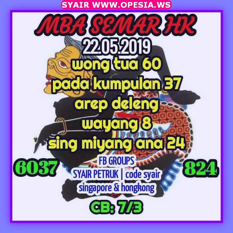 Kode syair hk rabu 22 Mei 2019 - Kode Syair SGP HK SD Motesia