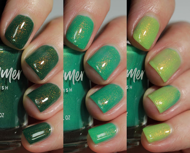 KBShimmer Aloe There swatch by Streets Ahead Style