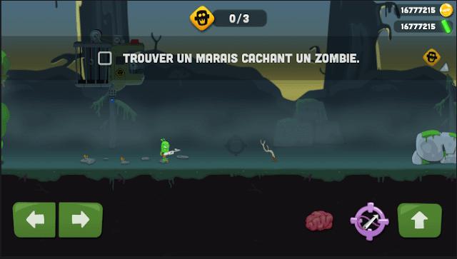 لعبة zombie catchers v 1.0.21 مهكرة للاندرويد اخر اصدار