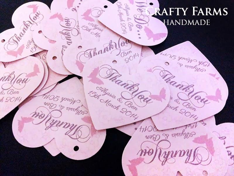 Wedding Gift In Malaysia: Crafty Farms Handmade : Heart