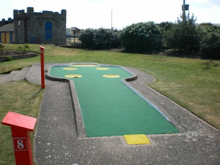 Arnold Palmer Crazy Golf and Putting in Skegness