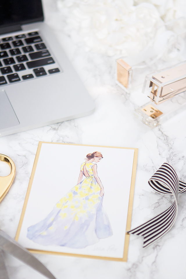 Papyrus teamed up with fashion designer Lela Rose to create the prettiest greeting cards you have ever seen.