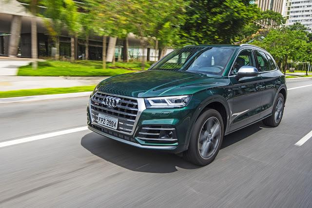 Novo Audi SQ5 3.0 2018 já está sendo vendido no Brasil - detalhes