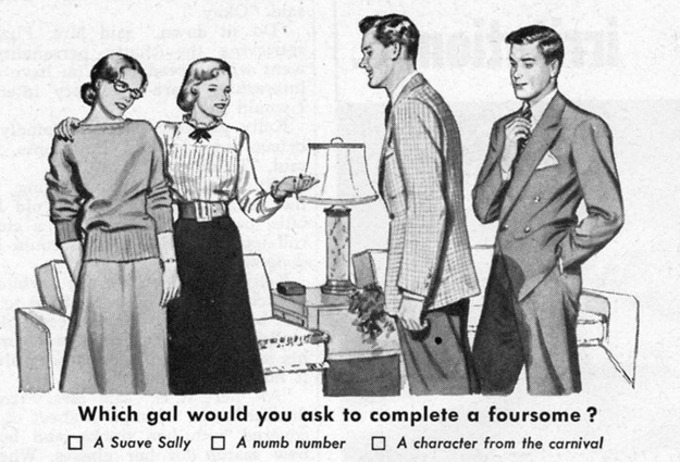 1950's dating advice