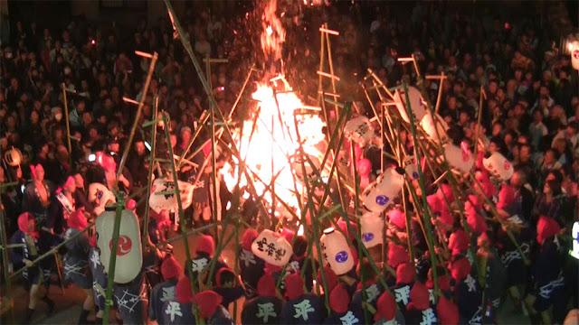 Japanese Lantern Festival, Himeji City, Hyogo Pref.