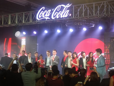 New Coca-Cola ambassadors in the Philippines.