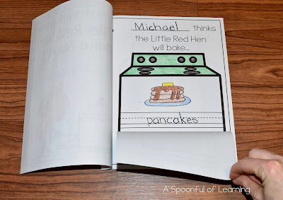 The Little Red Hen - Baking Pancakes
