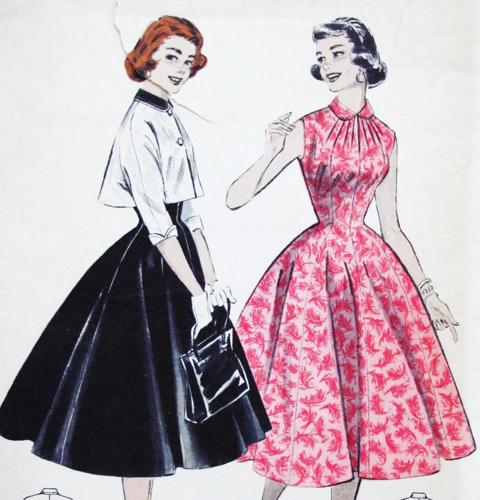 pintucks 1950s vintage fashion little cover ups