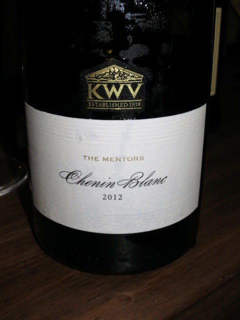 Wine Review of 2012 KWV The Mentors Chenin Blanc from WO Coastal Region, South Africa